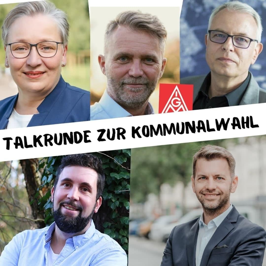 Talkrunde zur Wahl IG Metall Wolfsburg