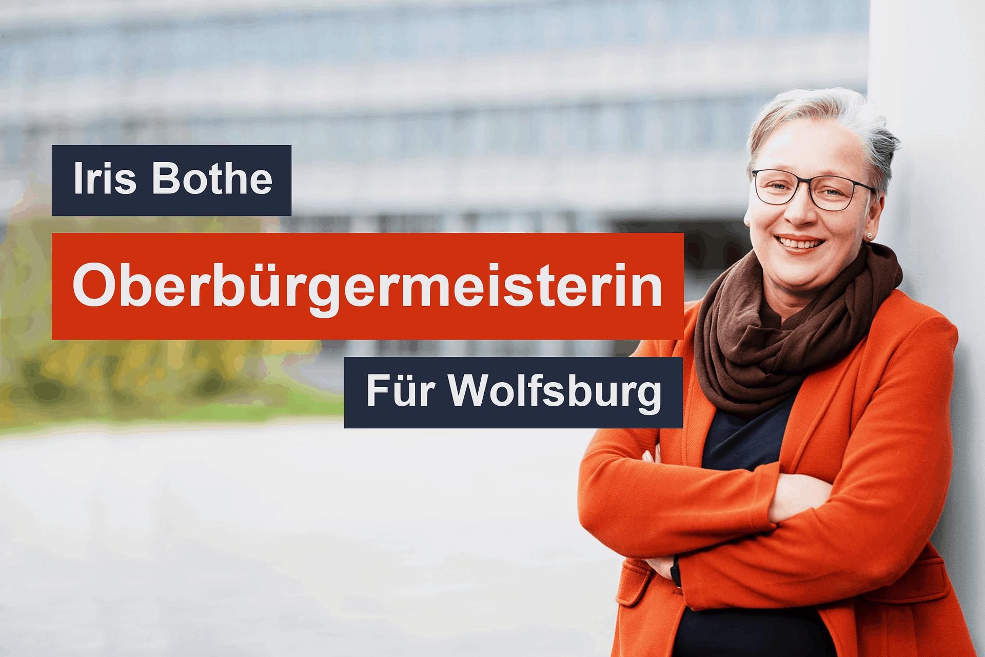 Iris Bothe Oberbürgermeisterin für Wolfsburg